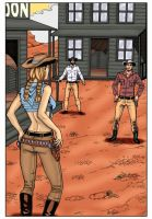 Luck in the Old West Page1 by Taraakian