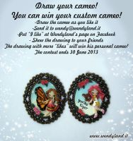 Draw your cameo contest! by Wendyland