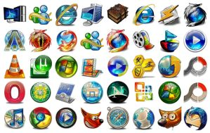 My Shiny Icons-Pack by X3RG10