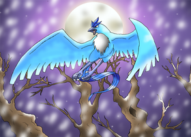 Bringer of Winter - Articuno by CosmicSprinkles