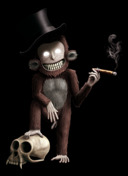 Alfons, the voodoo monkey by laitnin