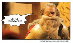 PAPA ODIN: Oh no you didnt!!! by theperfectbromance