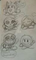 Kirbytale -sketches- by catgir