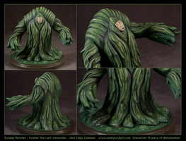 Commission Swamp Monster Avatar the Last Airbender by emilySculpts