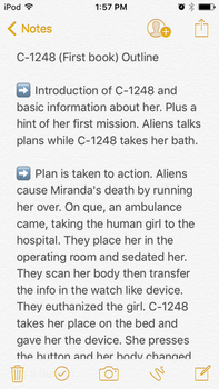 Outline for C-1248 on Wattpad  by AuriaWriter1995