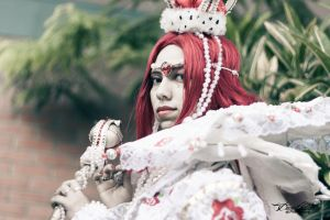 Esther Blanchett White Queen - IIMishaII by DraconPhotography