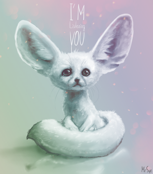 Fennec I'm listening you by MisterSue