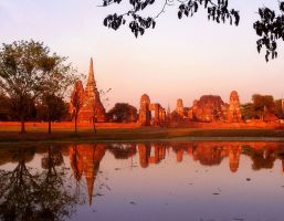 Ayutthaya Thailand by SheltieWolf