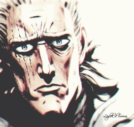 One Punch Man | King by Leylek-d-Sovura