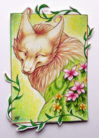 ACEO Silvolf by soulwithin465