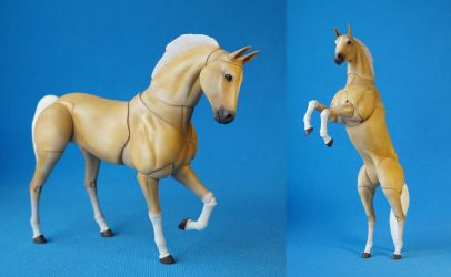 Horse bjd doll a by leo3dmodels