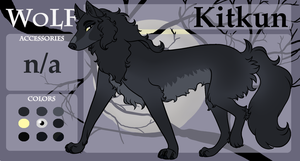 Kitkun Character Sheet - WoLF by AnimeFan4Eternity23