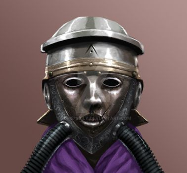 Roman Cavalry Gas Mask by Some1Silly