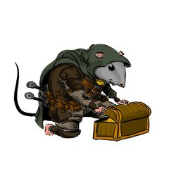Thief mouse by EmaCamU