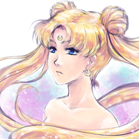 Sailor Moon by Kazeoseki