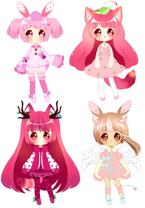 Adoptables - Leftovers OPEN $15.00 by Powder-Puff