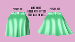 [DL]Pleated skirt w/ Bow by Diago-the-Fallen