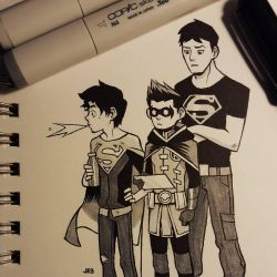 You called for Superboy by JE3