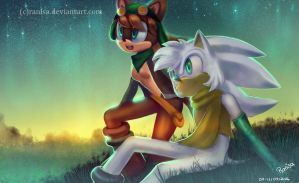 Cloud and Tammy | Commission by Ranisa