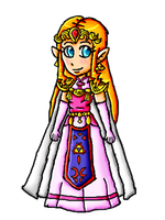 Oracle Zelda by ninpeachlover