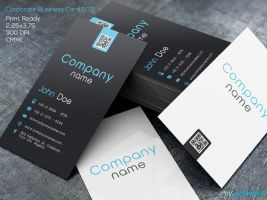Corporate Business Card 002 by khaledzz9