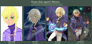 Six Years Improvement meme by DizzyAlyx