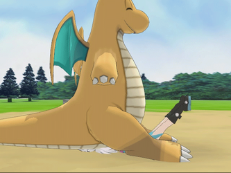 [MMD] (Animated) Dragonite learned 'Ass Meteor' by Jasalad