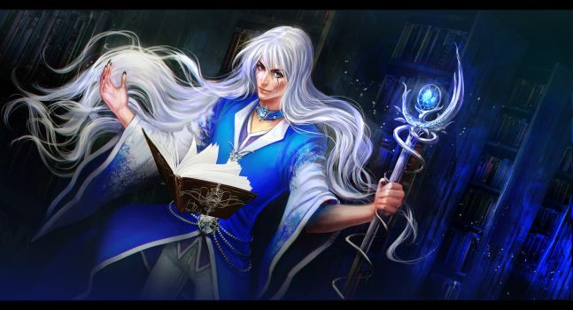 ice mage by anndr