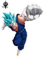 Vegetto ssj Blue by lucario-strike