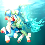 .:AT:. I looooove swimming! by KingStarButt