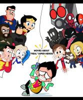 Teen Titans Go to the Movies by xeternalflamebryx