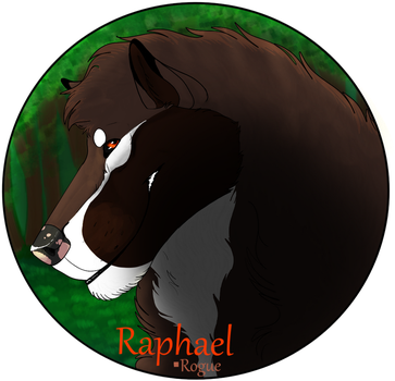 Raphael Medallion by drawingquirky