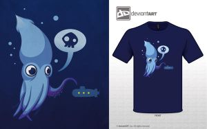 Cute Monster Contest: Baby Sea Monster by flattack