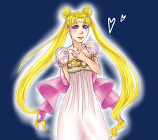 Princess Serenity by Outsaw