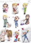 Hetalia Pets of the World! by Checker-Bee