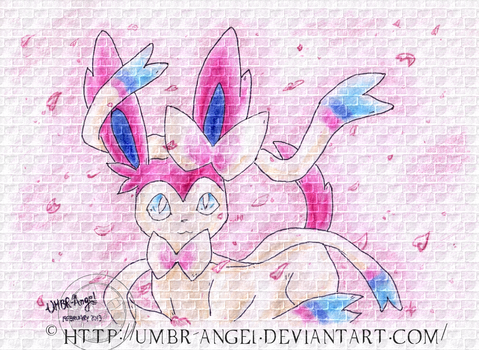 Sylveon, The Eighth eeveelution by UMBR-Angel
