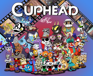 Cuphead The Movie Characters by AVM-Cartoons