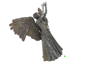 Angel Statue PNG 01 by neverFading-stock