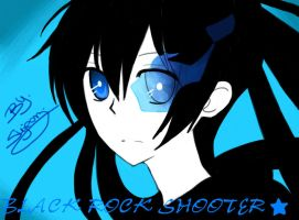 black rock shooter by sho-hei