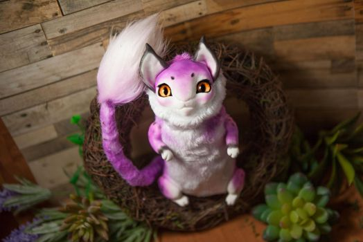 Custom cat toy - Furrykami by Furrykami-creatures