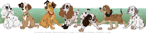 Patchielle Puppers by Aiyana-Kopa