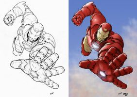 Iron Man by wetterink