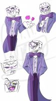[Cuphead]King Dice practice by LucyJung