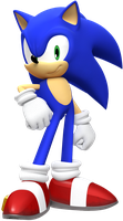 Sonic Standing Pose by JaysonJeanChannel