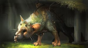 Trico, The Last Guardian by ALRadeck