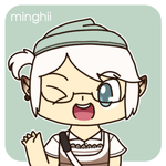 GO Birthday icon for minghii by to-much-a-thing