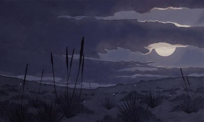 Pale Moon by shwippie