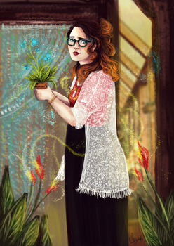 Day 1 - Witchsona by iNhyx