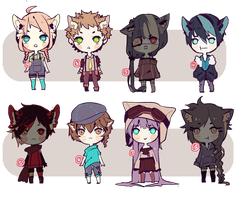 chibis adopt auction ( c l o s e d) by Kohsu
