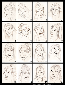 Expressions 1 by Siobhan68
